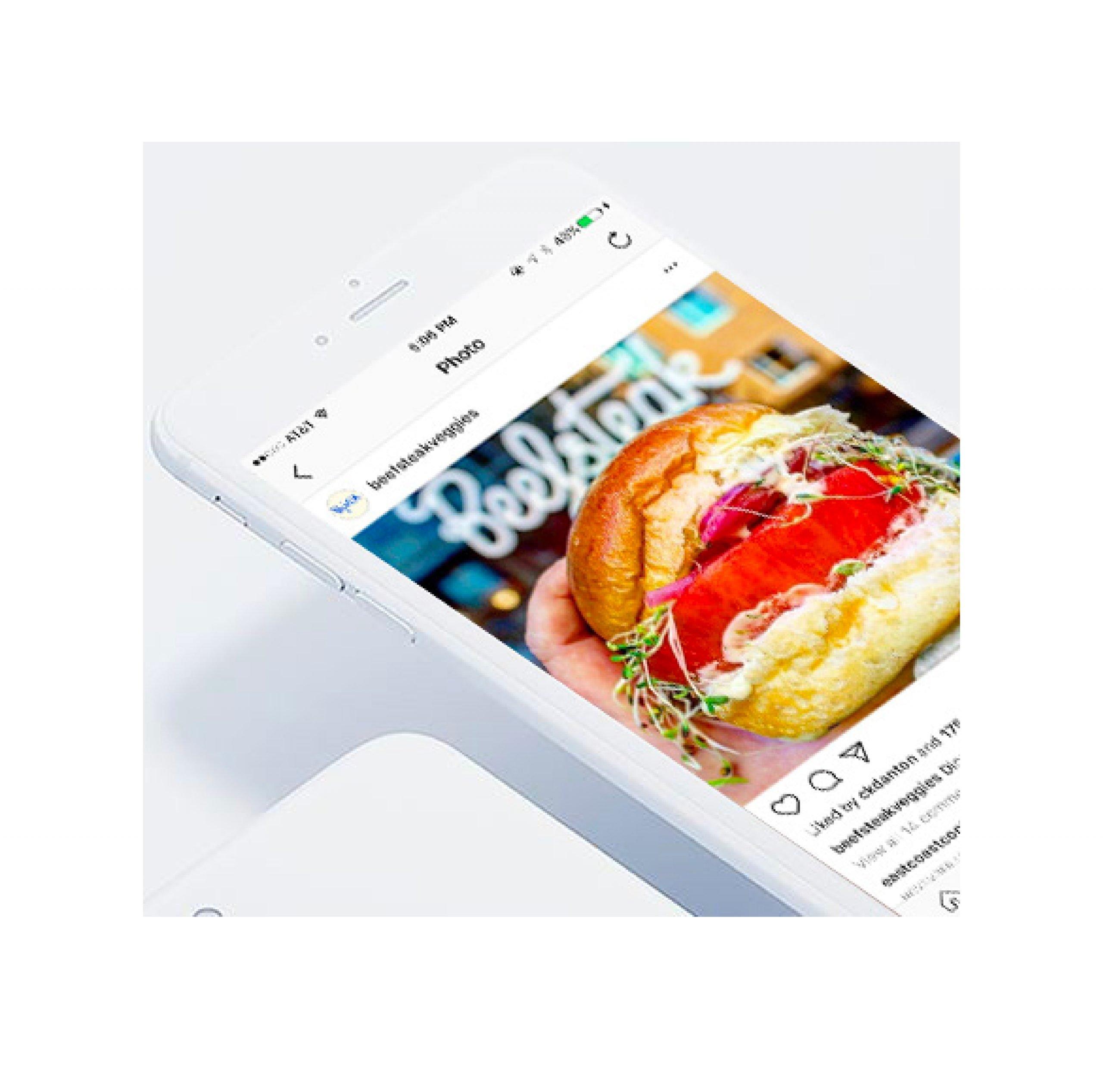 brand messaging used in social media for Beefsteak restaurants