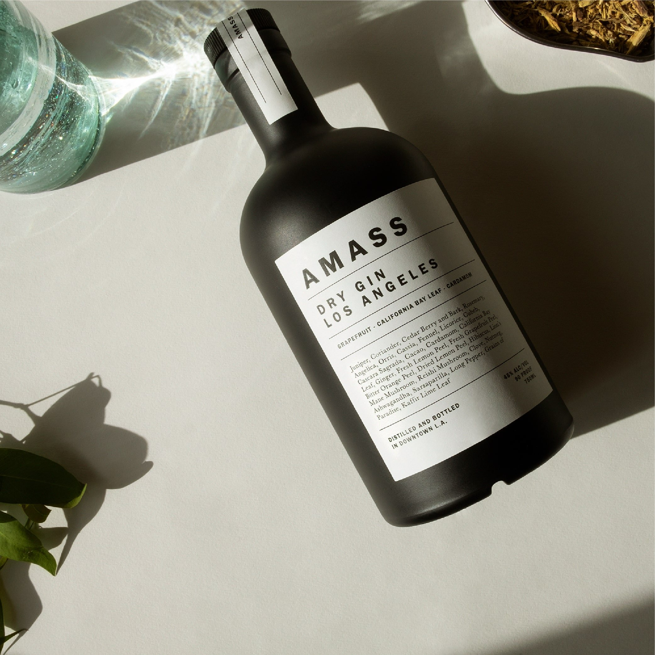 brand identity and packaging design for Amass